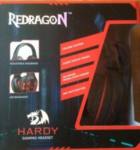 Игровые наушники Redragon Hardy