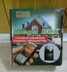 Продам охранную GSM сигнализацию Mega BOX