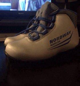 Лыжные ботинки, детские NORDWAY.