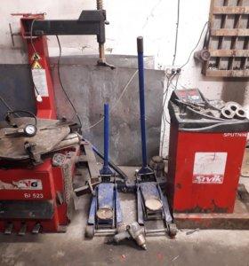шиномонтажное оборудование комплект