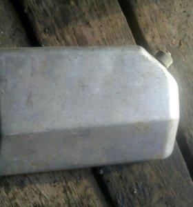 Фляжка алюминевая