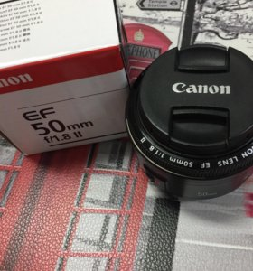 Canon EF 50 mm f/1.8
