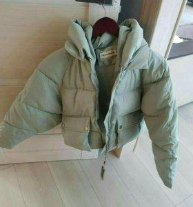куртка зефирка , зима/осень