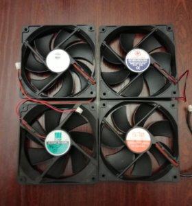 Вентилятор кулер Cooler 120x120x25 2pin 12V