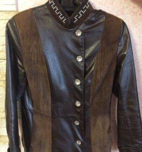 Куртка кожанная весна-осень
