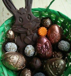 Подарок на Пасху - шоколад ручной работы