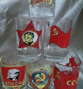 """набор """"СССР"""" ручная работа, подарок, сувенир"""
