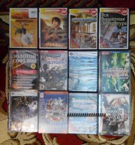 DVD софт, игры, литература