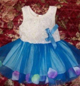 Платье новое на рост 70см