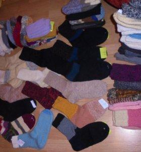Носки шерстяные (Новые, ручная вязка)
