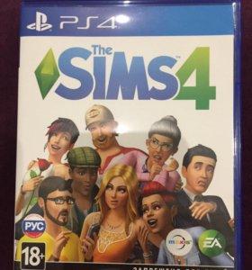 Продам игру Sims 4 на ps4