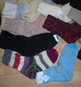 Шерстяные носки - ручной вязки, НОВЫЕ