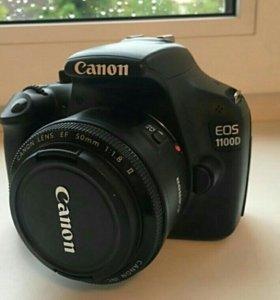 Canon 1100d + Canon EF 50/1,8 II.