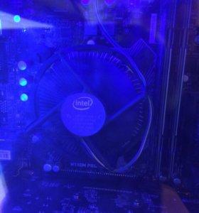 intel core i3 7100 с мат.платой и оперативкой