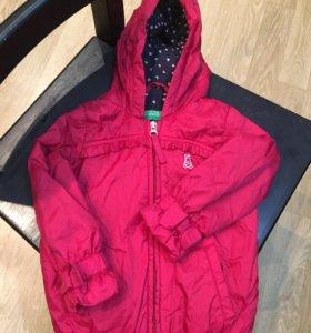 Ветровка куртка Benetton,82