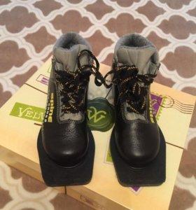 Лыжные ботинки р 32 и р 35 и р 36
