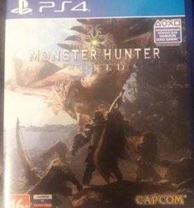 Monster hunter: world на ps4