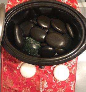 Нагреватель для камней и камни для стоунтерапии .