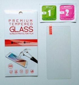 На Huawei Y7 защитное стекло