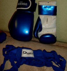 "Перчатки ""TORNEO"" боксерские 10 O.Z."