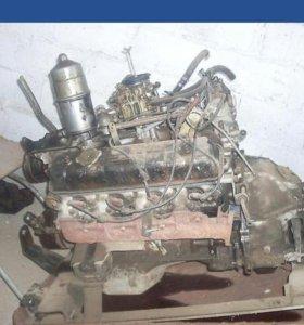 Двигатель газ 53 змз v8