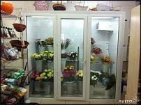 холодильная витрина, цветочный холодильник, цветы