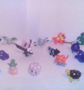 Коллекционные фигурки Pokemon(200р. Одна фигурка)