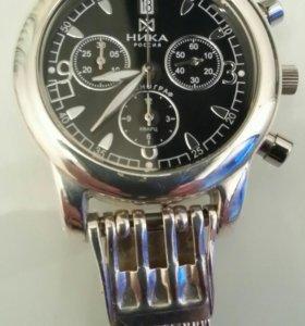 Часы Ника с браслетом серебряные