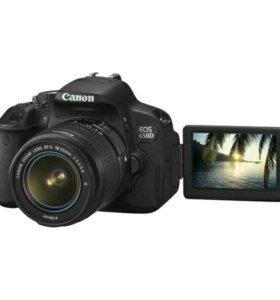 Фотоаппарат зеркальный Canon EOS 650D