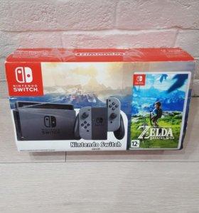 Nintendo Switch + Zelda BotW