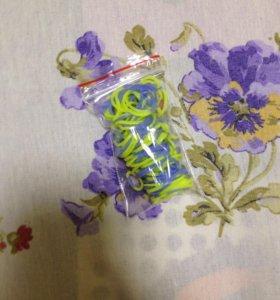 Резиночки для плетения браслетов.