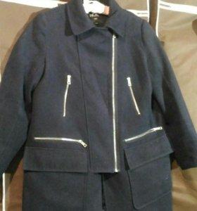 Куртка косуха Милитари стиль под замшу