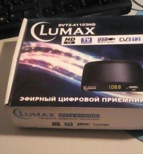 Коробка для тв приставки lumax dvt2_41103hd