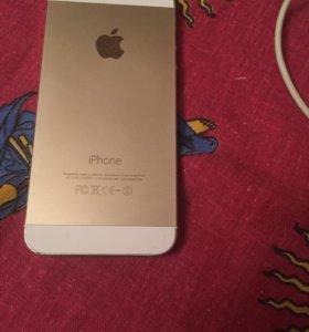 Продаю iPhone 5s, Gold, 16GB.