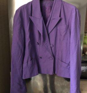 Пиджак размер 48