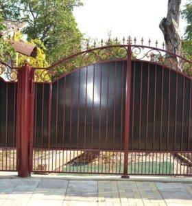 Кованые ворота 0,8,ковка