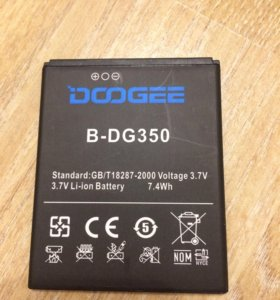 Аккумулятор Doogee B-DG350