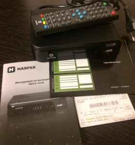 Приёмник цифрового телевидения Harper