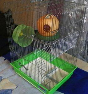 Клетка для хомячков, мышек, и небольших крыс