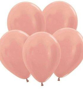 """Воздушные шары """"розовое золото"""""""