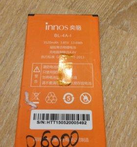 Аккумулятор innos D6000(BL-4A)