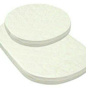 Матрас круглый и овальный для кроватки-трансформер