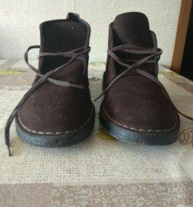 Clarks Original desert boot suede brown