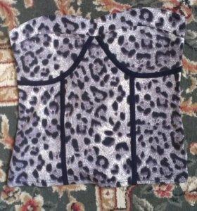 Топ леопардовый новый