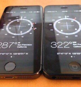 iPhone 5s и iPhone5