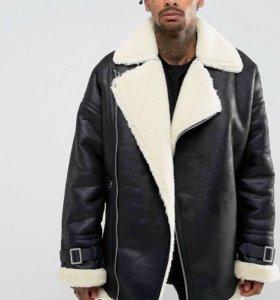 Байкерская оверсайз куртка