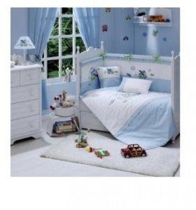 Комплект постельного белья Fannababy+балдахин