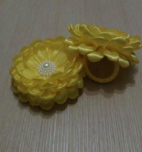 Желтые бантики