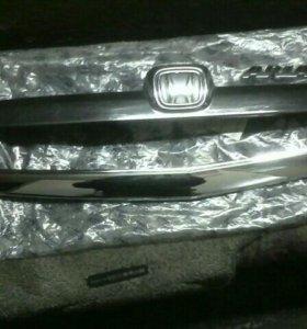 Накладки на капот и багажник Хонда Фит Ариа