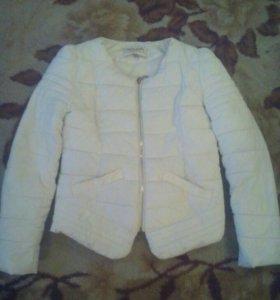 Куртка белая весна